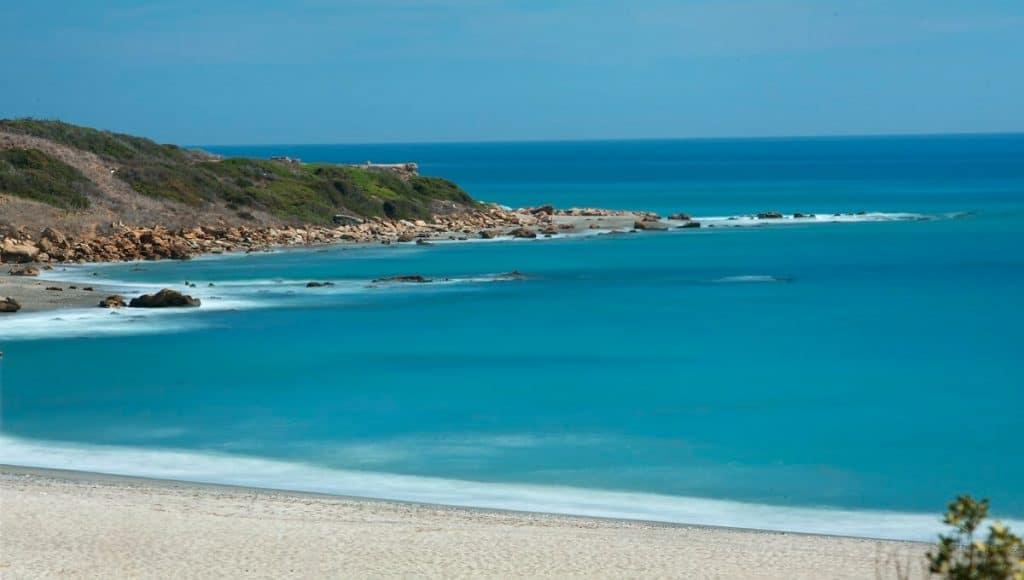 Blue flag beaches of La Alcaidesa urbanization