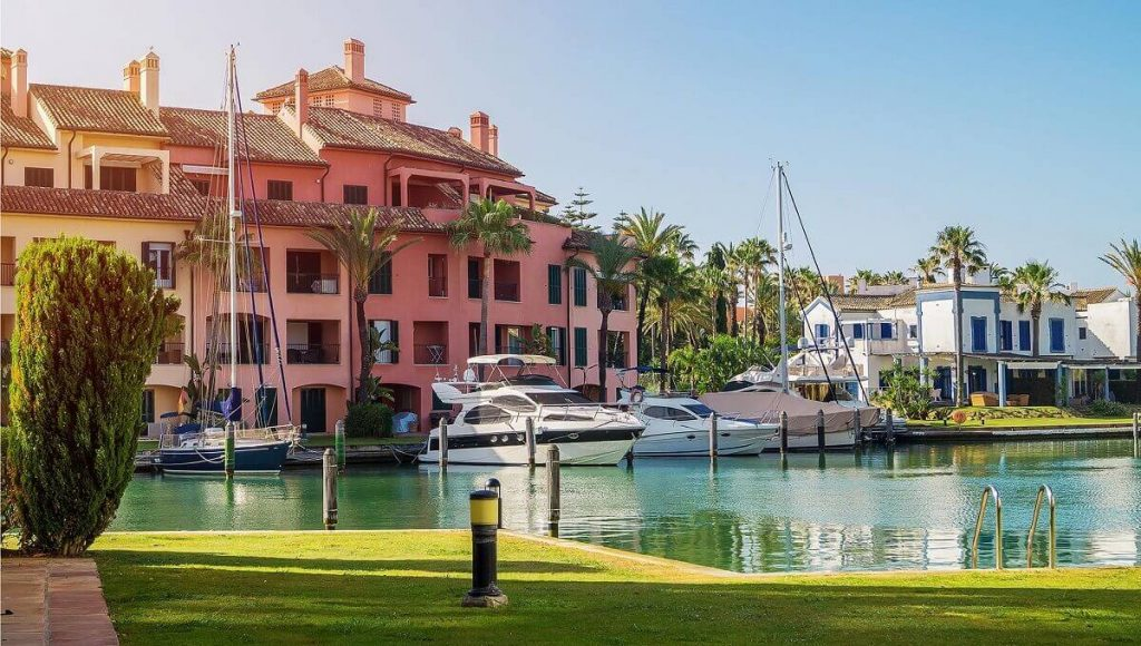 Sotogrande sub-areas - Sotograne Marina & Port