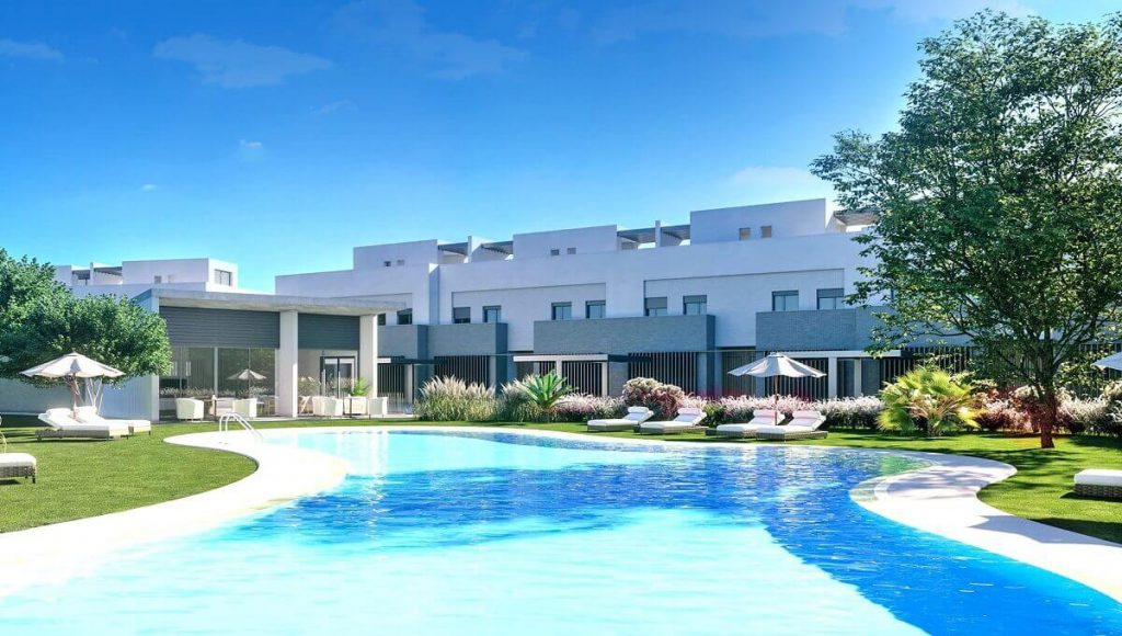 San Roque Club new built townhouses for sale