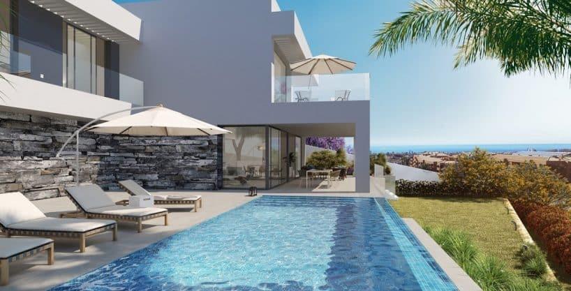 Los Flamingos Views Benahavis – Luxury villas with golf and sea views