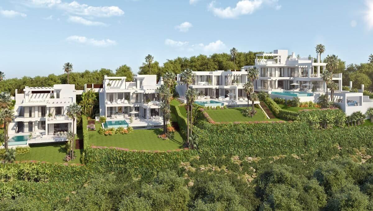 Villas 1, 2, 3 and 4