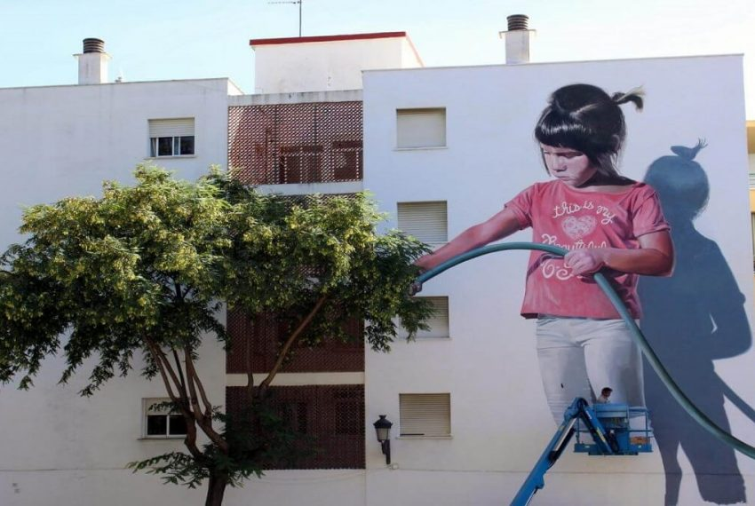 Estepona public street art