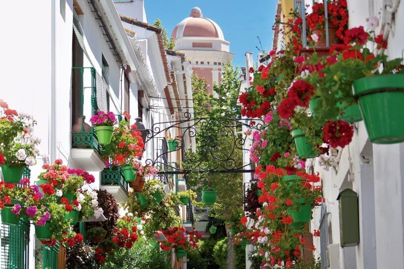 Estepona old town centre