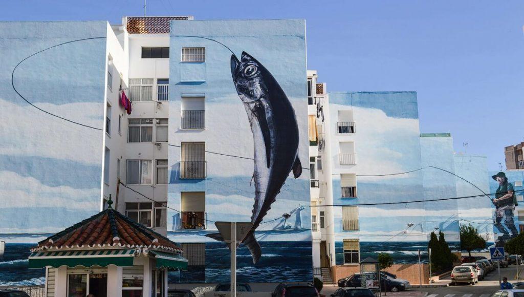 Estepona's Artistic Wall Murals