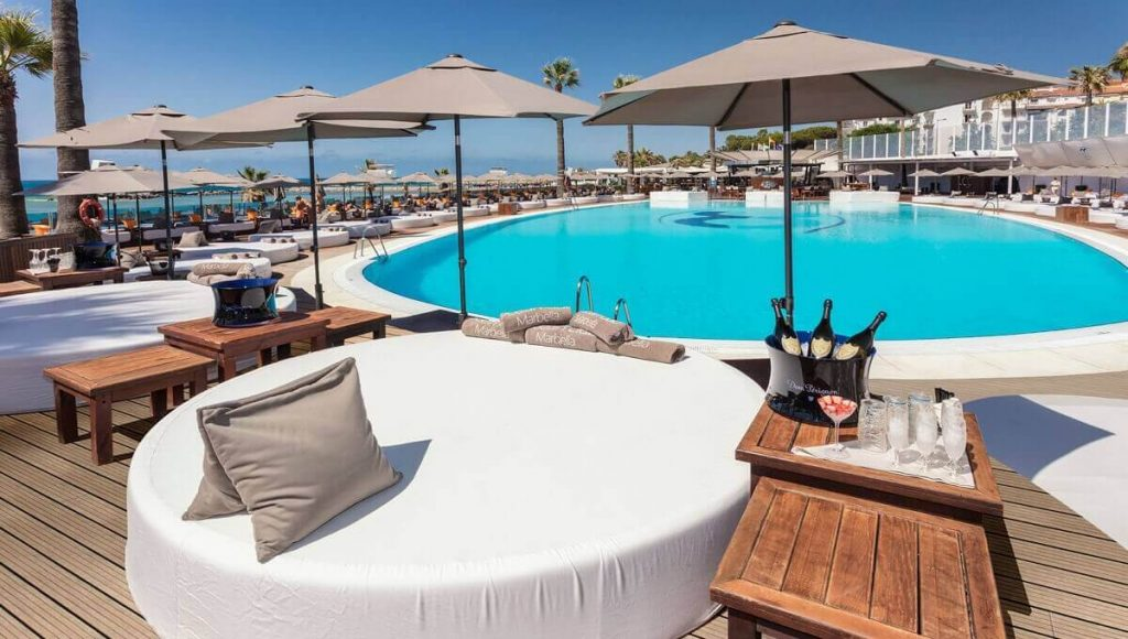 Ocean Club - Top beach clubs in Marbella, Puerto Banus