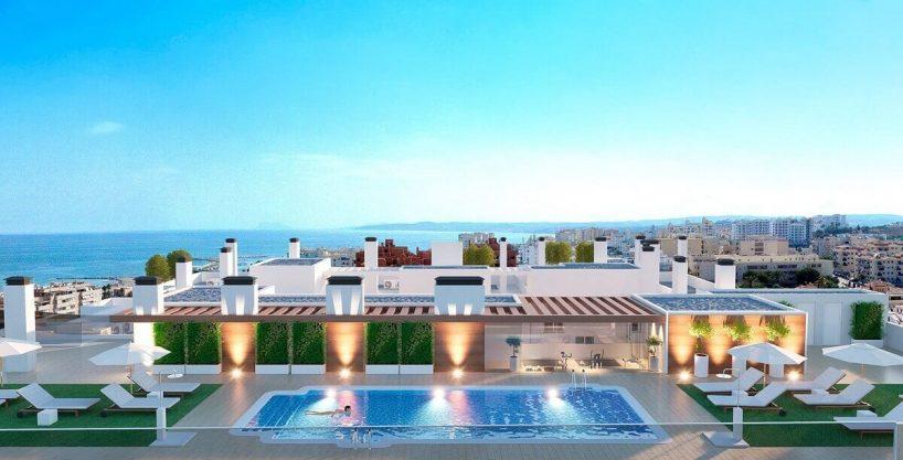 Edificio Kairos Estepona | Fabulosos apartamentos a 150m de la Playa