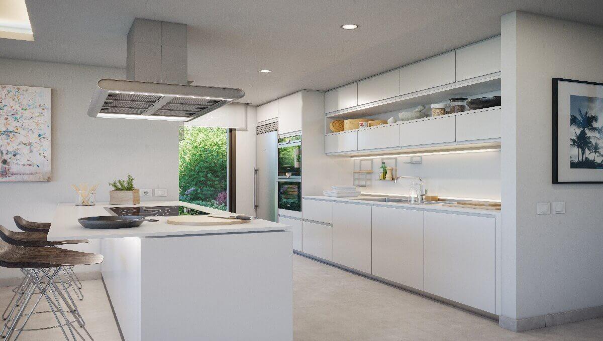 Villa Amatista Kitchen