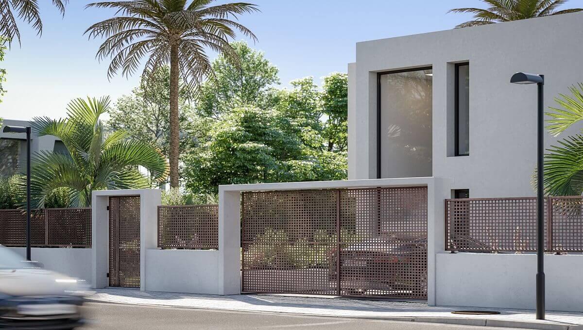 Villa Amatista outside door