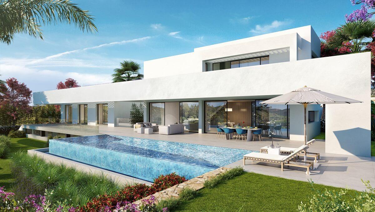 Villa 1- Frontal