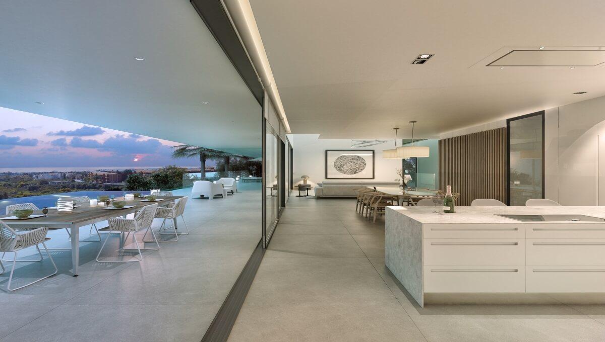 Villa 1 Interior