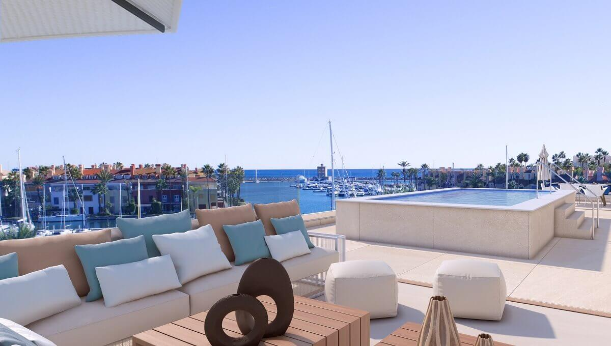 B1.1_PIER1_apartments_Sotogrande_terrace_Solarium_penthouse