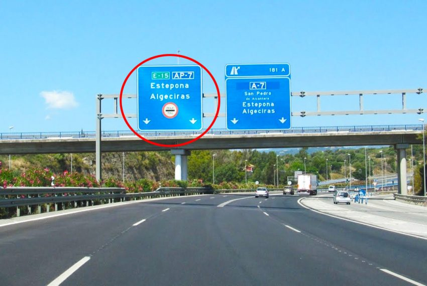 Reasons to make the AP7 toll road free on the Costa del sol