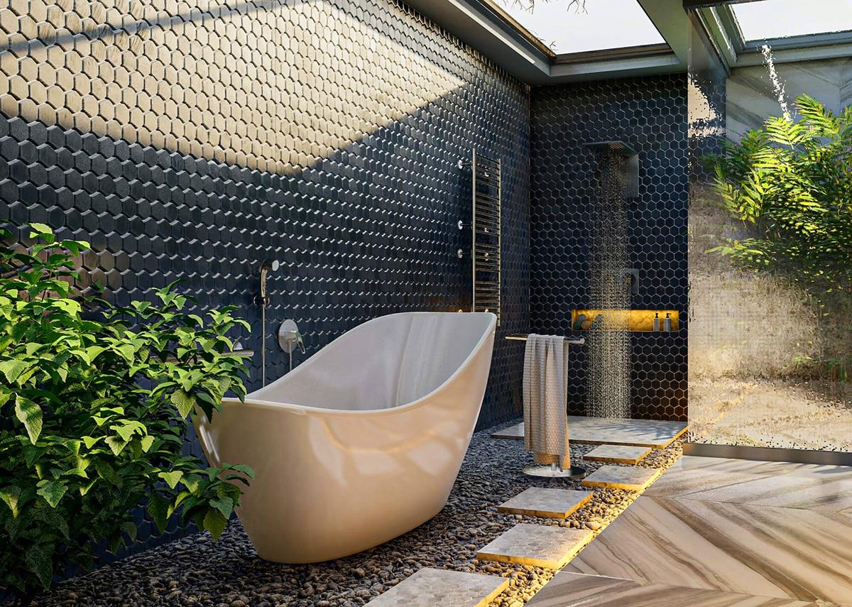 Homebuyers wishlist - Open air Bathroom