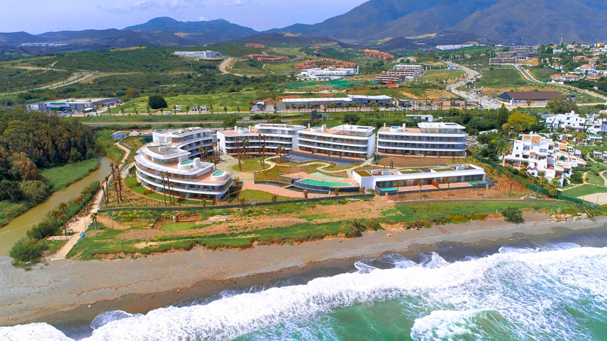 Home of the Month – The Edge in Estepona- Aerial View of the Edge