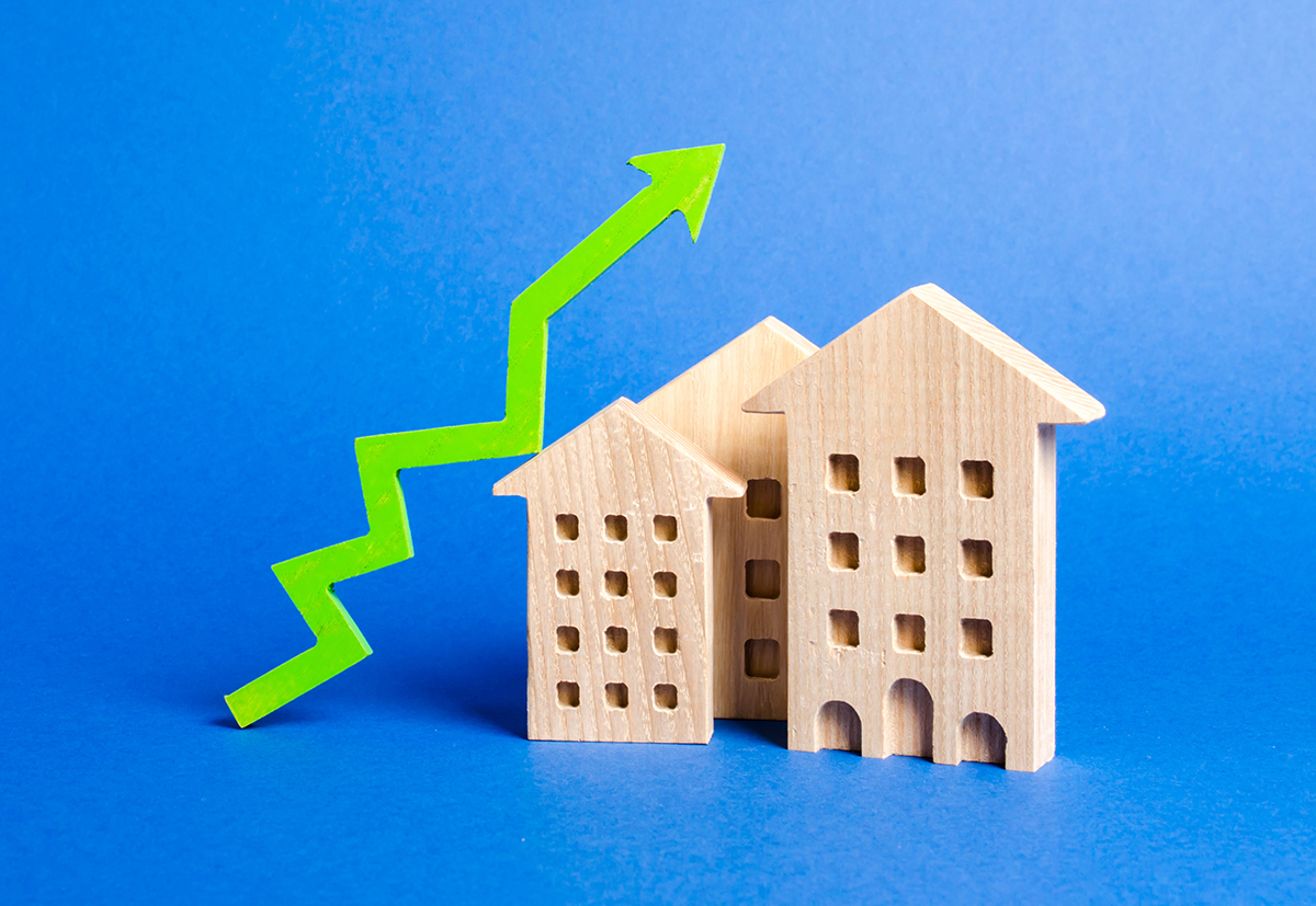 Property Sales are going up