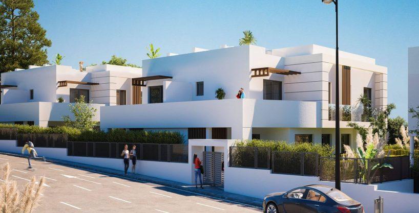 Beautiful Townhouse for sale in Los Miradores del Sol Estepona