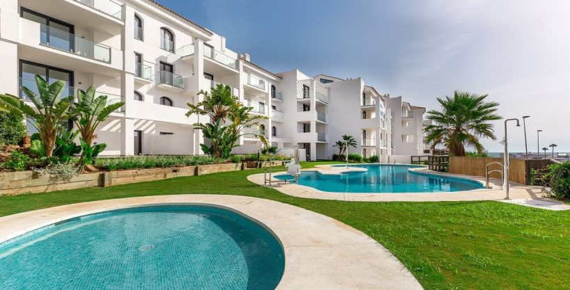 Brand New Apartment with Panoramic Sea View La Paloma Manilva