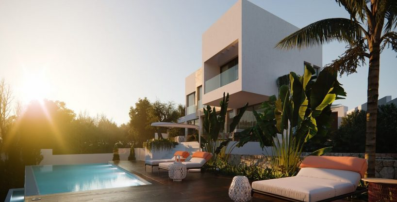 Villas de lujo a la venta en Village Mirador del Paraiso Benahavis